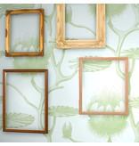 Cole-Son Lily Lichtblauw En Groen 69/3112 Wallpaper