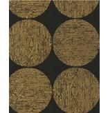 Cole-Son Luna Zwart Met Glans, Bruin En Goud 69/5119 Wallpaper