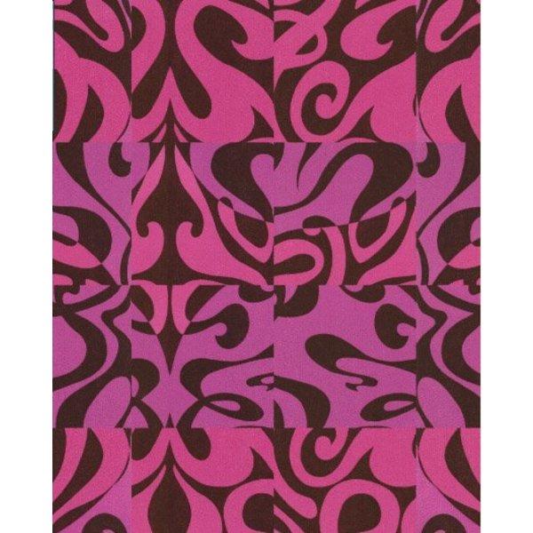 Woodstock Zwart, Roze En Paars 69/7125