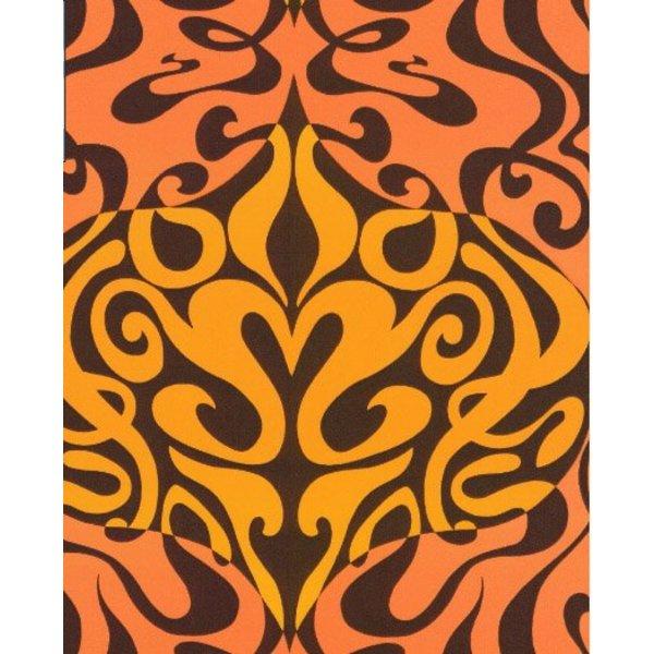 Woodstock Zwart, Oranje En Geel / Oranje 69/7126