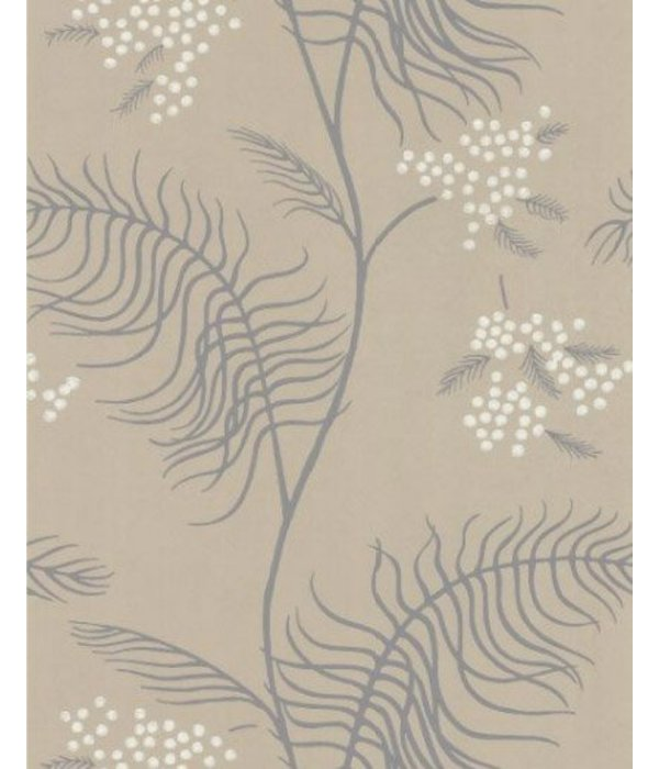 Cole-Son Mimosa Grijs, Donkergrijs En Wit 69/8131 Behang