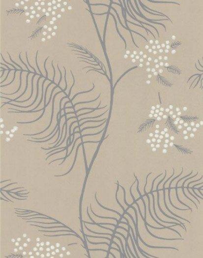 Mimosa grijs donkergrijs en wit 69 8131 de mooiste muren - Wit behang en grijs ...