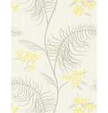 Cole-Son Mimosa Wit, Grijs En Geel 69/8132 Behang