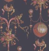 Braquenie Roziere Fond Uni Noir Wallpaper