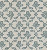 Braquenie Adelaide Blue Wallpaper