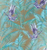 Matthew-Williamson Sunbird Bronze/Purple/Turquoise W654307 Behang