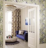 Matthew-Williamson Sunbird Metallic/Blue/Grass Wallpaper