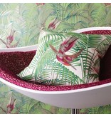Matthew-Williamson Sunbird Metallic/Fuchsia/Jade Wallpaper