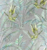 Matthew-Williamson Sunbird Silver/Lemon/Soft Jade W654305 Behang