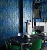Matthew-Williamson Peacock Midnight/Metallic Wallpaper