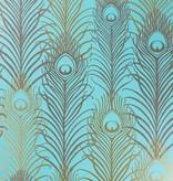 Matthew-Williamson Peacock Jade/Metallic W654102 Behang