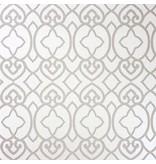 Matthew-Williamson Imperial Lattice Ivory Mica W654601 Behang