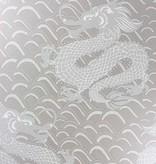 Matthew-Williamson Celestial Dragon Pebble/Metallic Gilver W654504 Behang