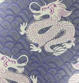 Matthew-Williamson Celestial Dragon Ink/Amethyst/Metallic W654503 Behang