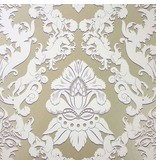 Matthew-Williamson Pegasus Metallic Gold/Pale Bone Wallpaper
