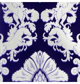 Matthew-Williamson Pegasus Dark Violet/Gilver Wallpaper