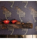 Matthew-Williamson Tyger Tyger Cacao/Marigold Wallpaper