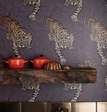 Matthew-Williamson Tyger Tyger Metallic Silver Wallpaper
