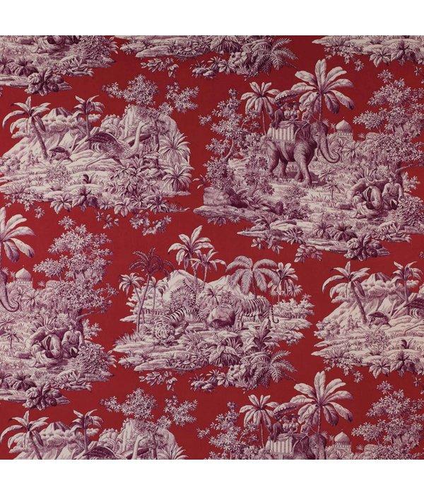 Manuel-Canovas Bengale Grenat Wallpaper