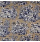 Manuel-Canovas Bengale Saphir Wallpaper
