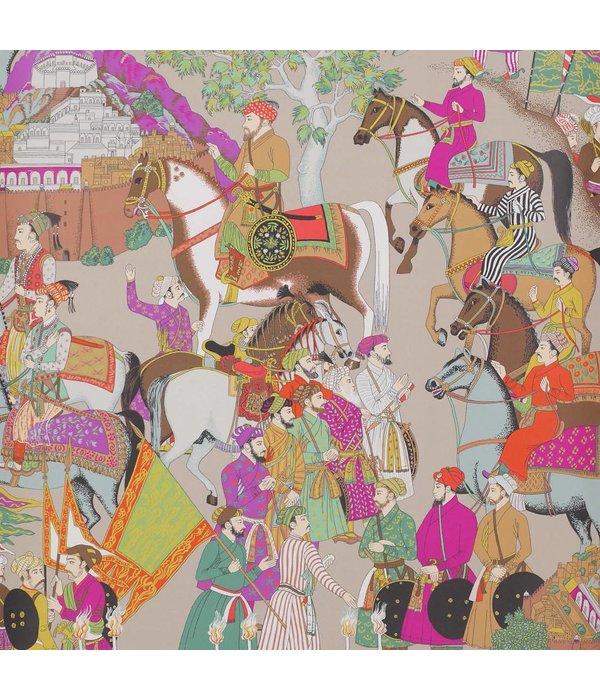 Manuel-Canovas Dara Taupe Wallpaper