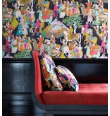 Manuel-Canovas Dara Noir Wallpaper