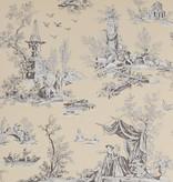 Manuel-Canovas Jardin Du Lux Sepia Wallpaper