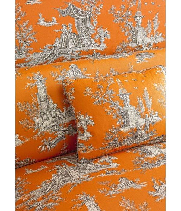 Manuel-Canovas Jardin Du Lux Abricot Wallpaper