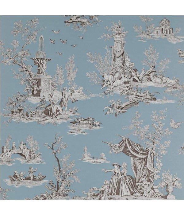 Manuel-Canovas Jardin Du Lux Brume Wallpaper