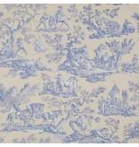 Manuel-Canovas La Musardiere Bleu 03015/03 Behang