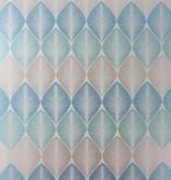 Osborne-Little Leaf Fall Met. Peacock/Turquoise Wallpaper