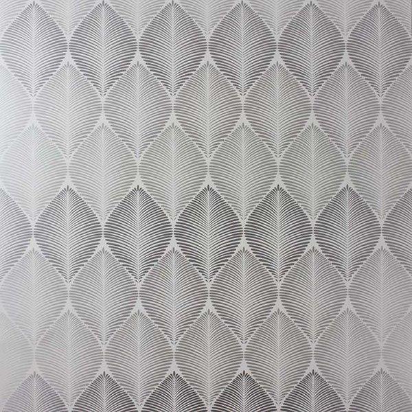 Leaf Fall Met. Silver/Pale Slate W6591-04