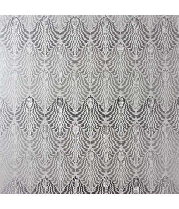 Osborne-Little Leaf Fall Met. Silver/Pale Slate W6591-04 Behang