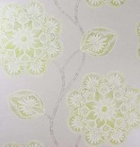 Osborne-Little Mumtaz Lime/Pale Chartreuse Wallpaper