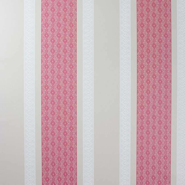 Chantilly Stripe Red/White/Linen