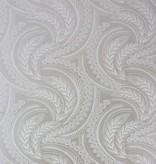 Osborne-Little Quill Met. Gilver/Ivory Wallpaper
