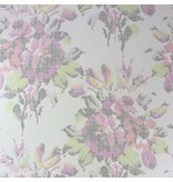 Osborne-Little Pot Pourri Mica Shell/Fuchsia/Red/Lime Wallpaper