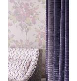 Osborne-Little Pot Pourri Mica Silver/Fuchsia/Purple Wallpaper