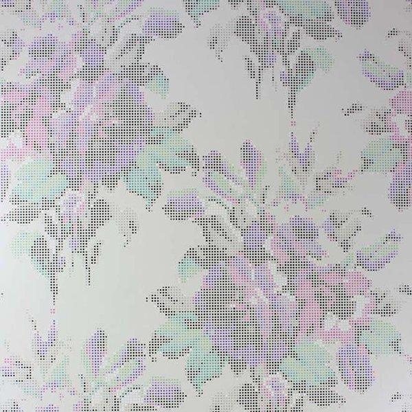 Pot Pourri Mica Silver/Fuchsia/Purple