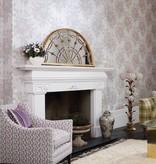 Osborne-Little Pot Pourri Mica Silver/Sapphire/Slate Wallpaper