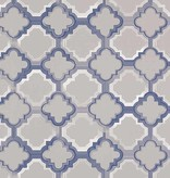 Osborne-Little Quatrefoil Sapphire Wallpaper