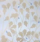 Osborne-Little Feuille de Chene Sapphire Gilver W6430-02 Behang