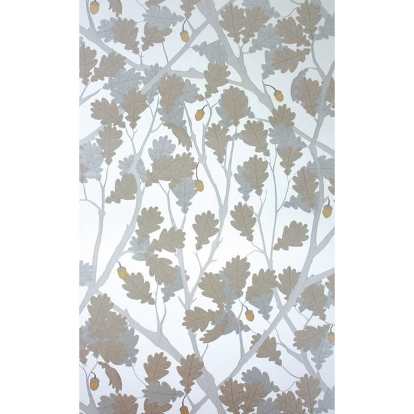 Feuille de Chene Ivory Gilver Silver