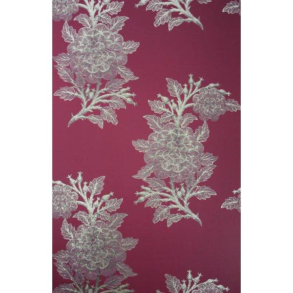 Ajoure Cranberry / Pale Gilver