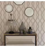 Osborne-Little Cannetille Black Silver Wallpaper