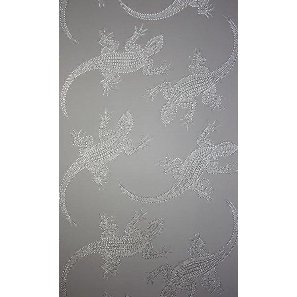 Komodo Bruin Met Glimmend Zilver