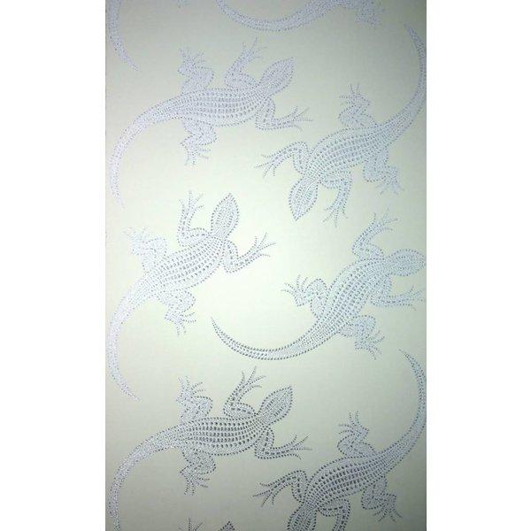 Komodo Gebroken Met Glimmend Zilver W6300-04