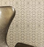 Osborne-Little Boa Beige Met Goud Wallpaper