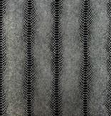 Osborne-Little Cobra Zwart Met Zilver W6302-05 Behang