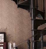 Osborne-Little Panthera Linnen Met Zilver Wallpaper